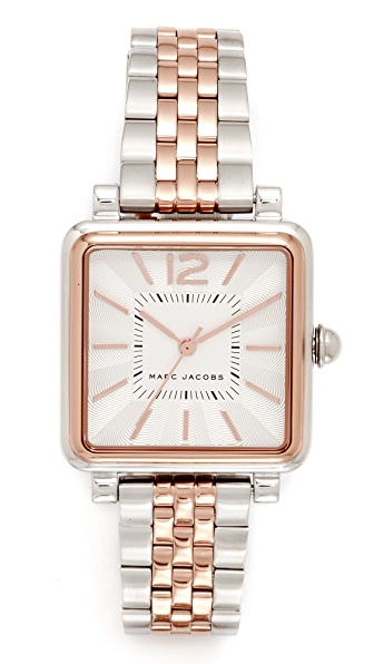 Marc Jacobs Vic Watch - Silver/Rose Gold