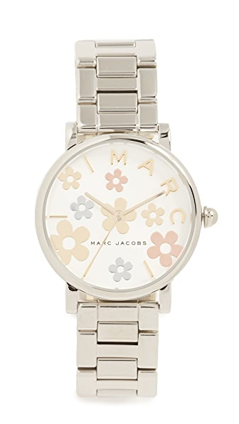 Marc Jacobs Roxy Watch, 36mm In Steel