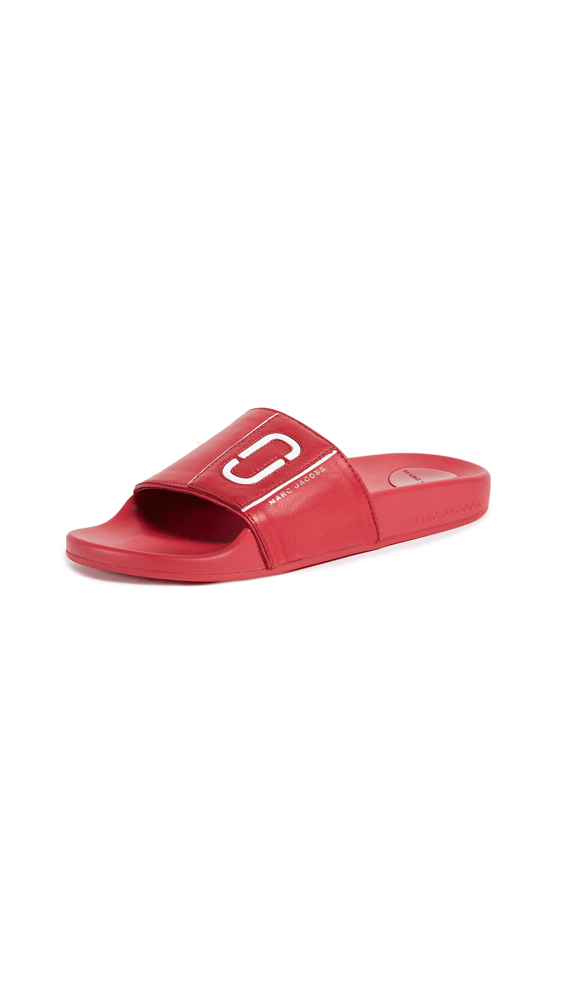 Marc Jacobs Cooper Sport Slides - Red