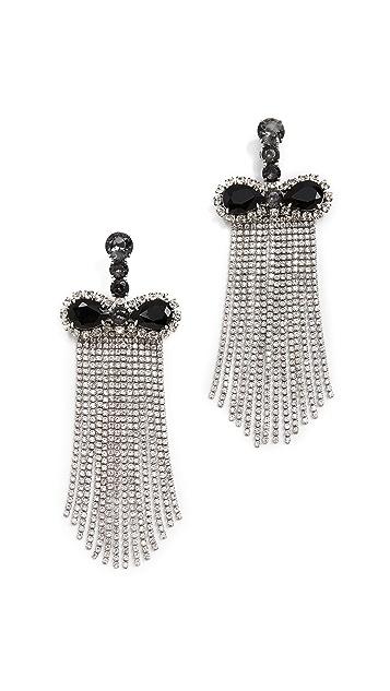 Marc Jacobs Crystal Waterfall Earrings