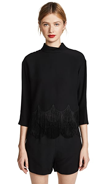 Marc Jacobs Button Down Fringe Top at Shopbop