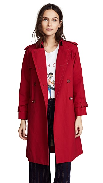 Marc Jacobs Shrunken Trench Coat at Shopbop