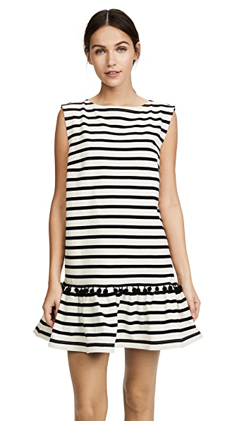 Marc Jacobs Striped Pom Pom Dress at Shopbop