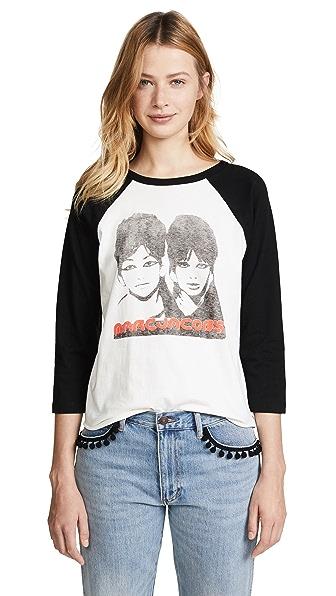 Marc Jacobs Graphic Raglan T-Shirt at Shopbop