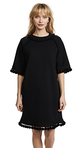 Marc Jacobs Sweatshirt Dress with Pom Poms at Shopbop