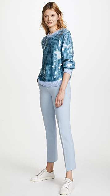 Marc Jacobs Sequin Crew Neck Sweater
