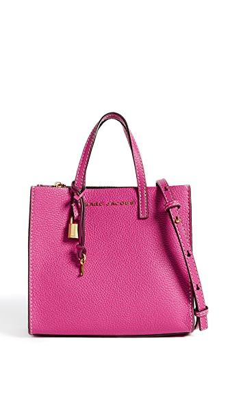 Marc Jacobs Mini Grind Tote In Hydrangea