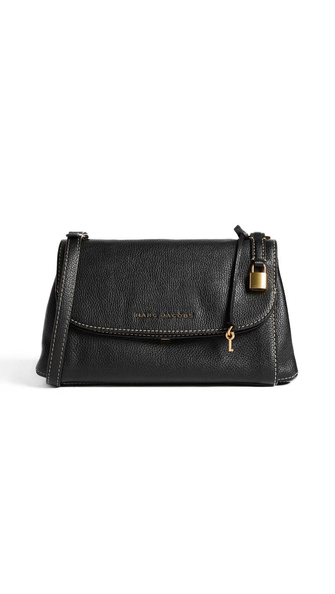 Marc Jacobs Boho Grind Shoulder Bag - Black/Gold