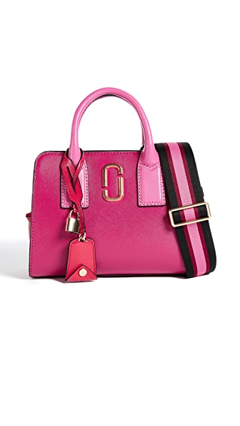 Marc Jacobs Little Big Shot Satchel In Hibiscus Multi