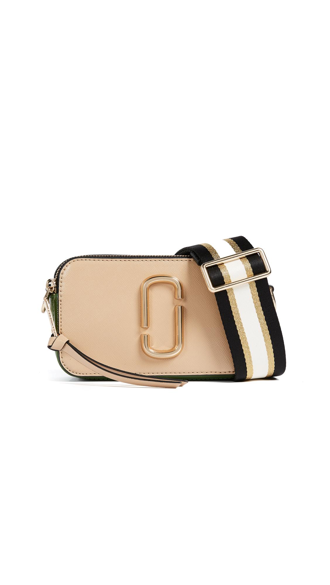 Marc Jacobs Snapshot Cross Body Bag - Sandcastle Multi