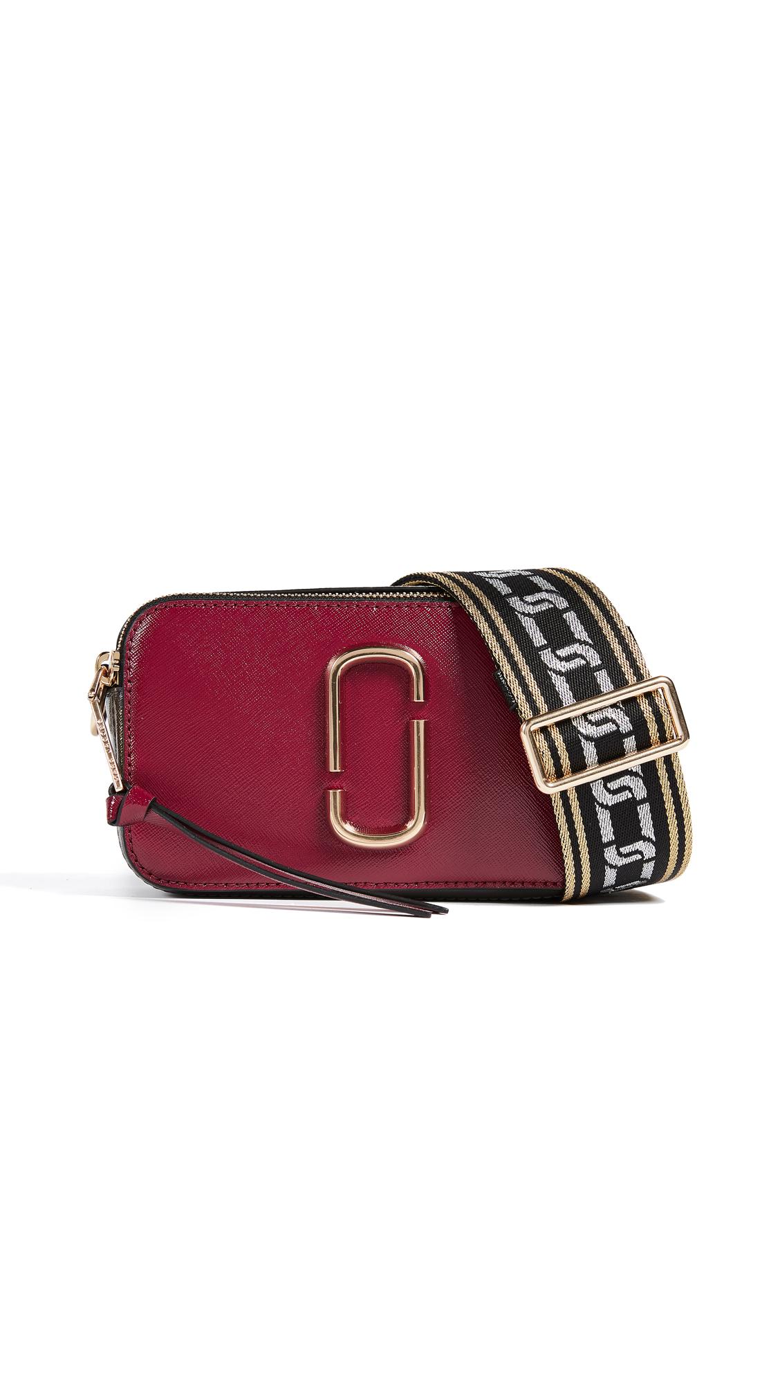 Marc Jacobs Snapshot Cross Body Bag - Deep Maroon/Granite