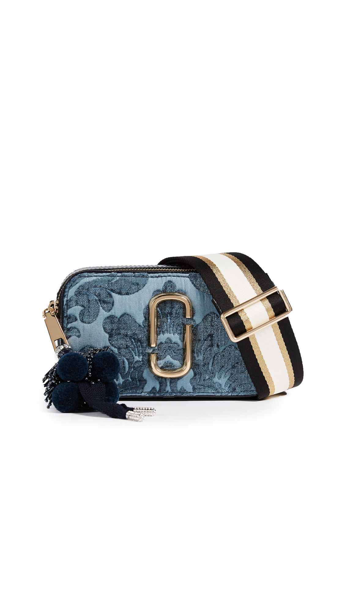Marc Jacobs Snapshot Damask Cross Body Bag - Blue