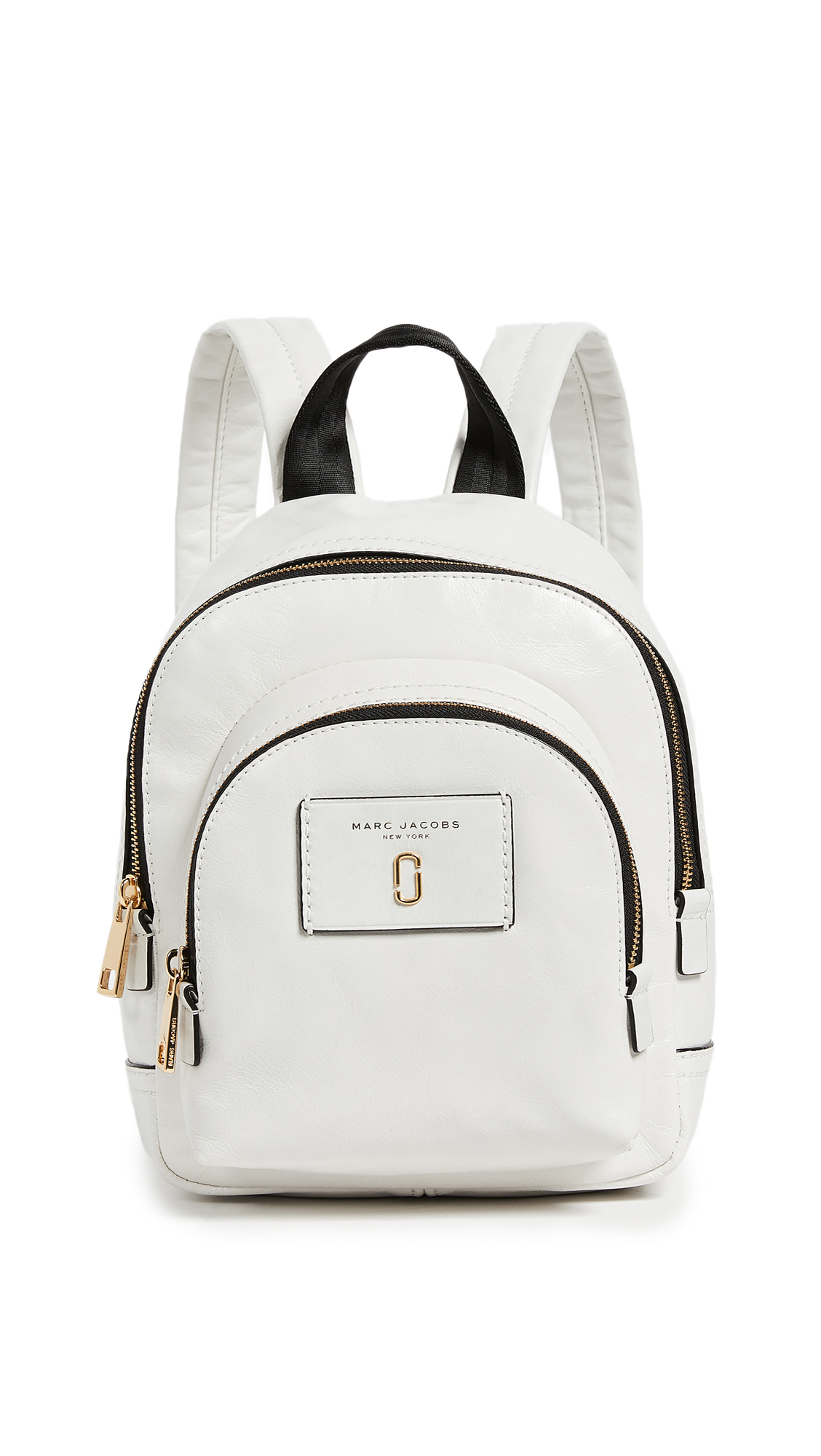 Marc Jacobs Mini Double Backpack - White Glow