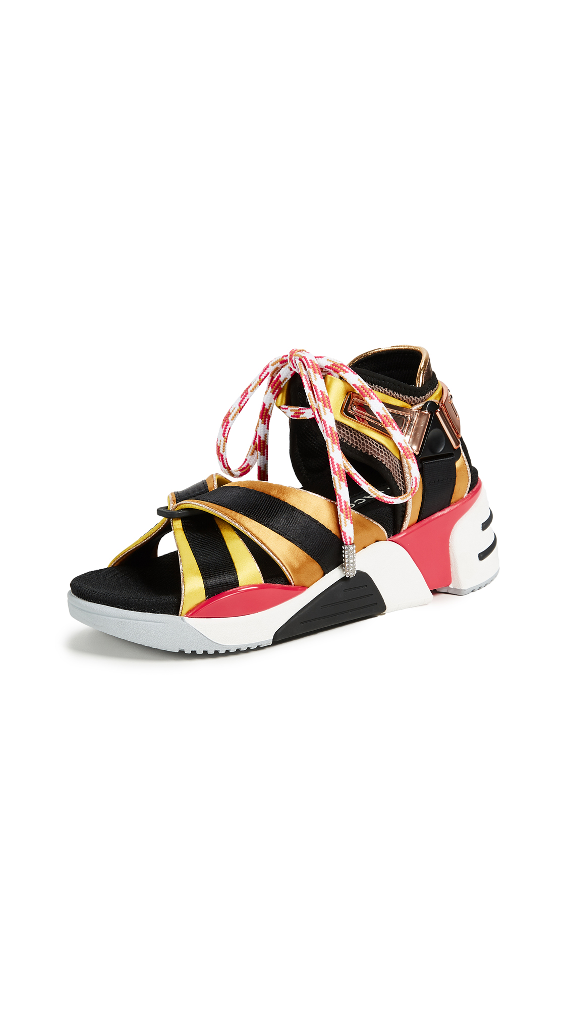 Marc Jacobs Somewhere Sport Sandals - Yellow Multi