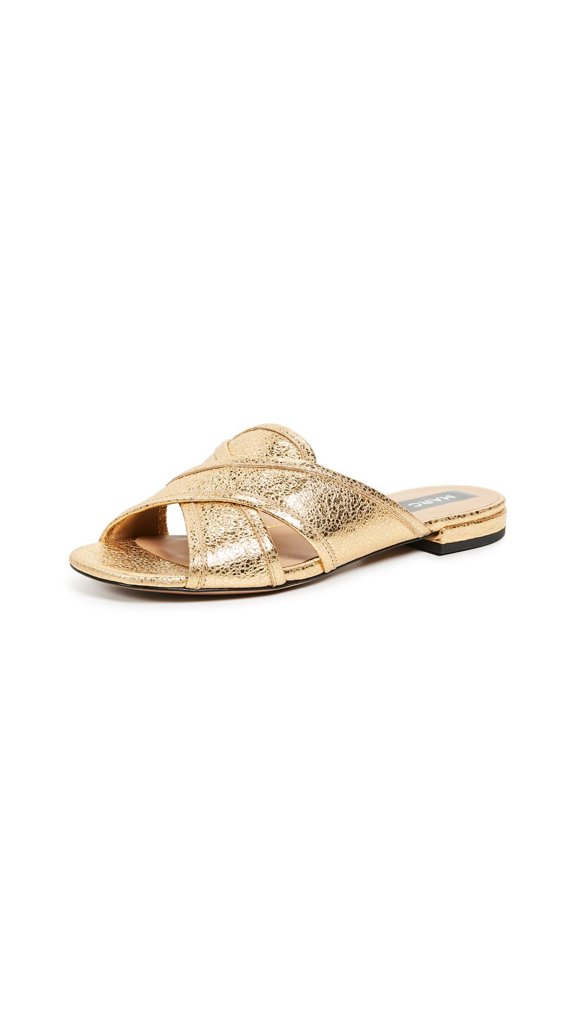 Marc Jacobs Aurora Flat Sandal - Gold