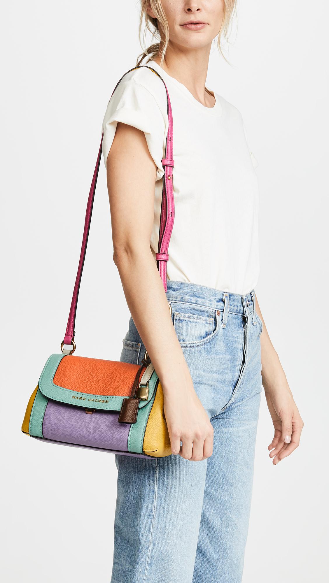 71306e09c7dec Marc Jacobs Mini Colorblocked Boho Grind Bag