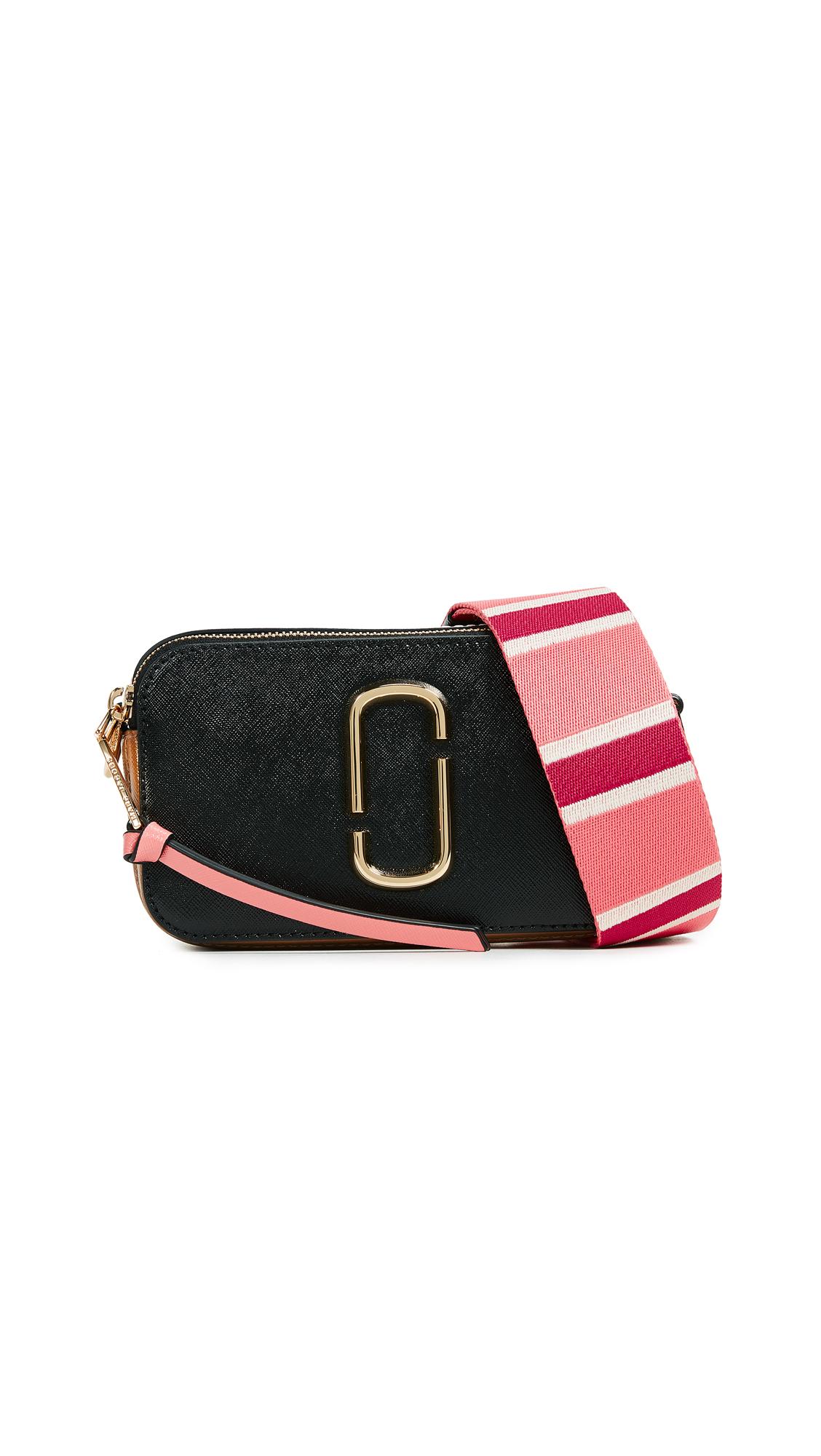 Marc Jacobs Snapshot Camera Bag - Black/Gazelle