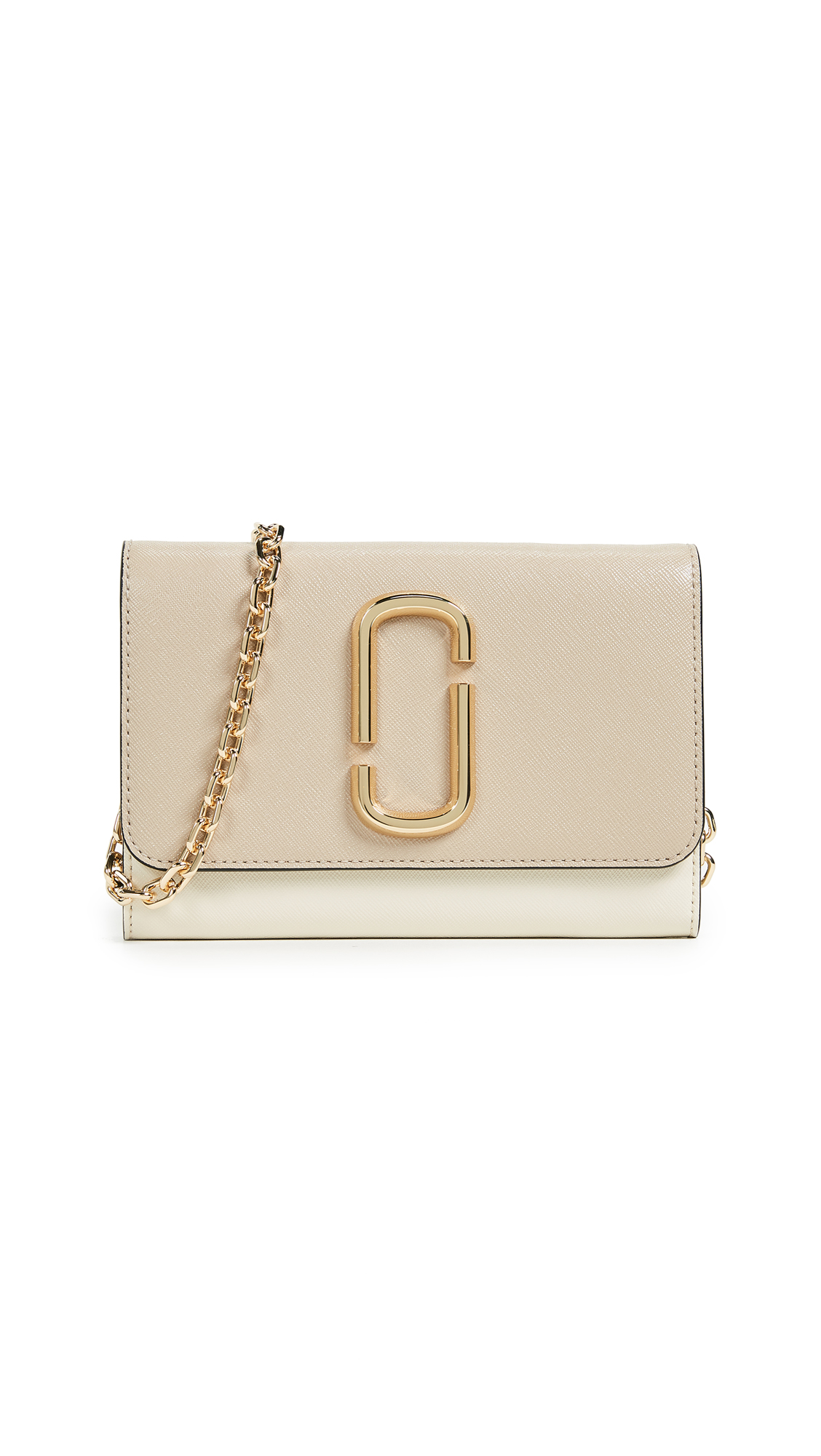 Marc Jacobs Snapshot Wallet on Chain In Light Slate