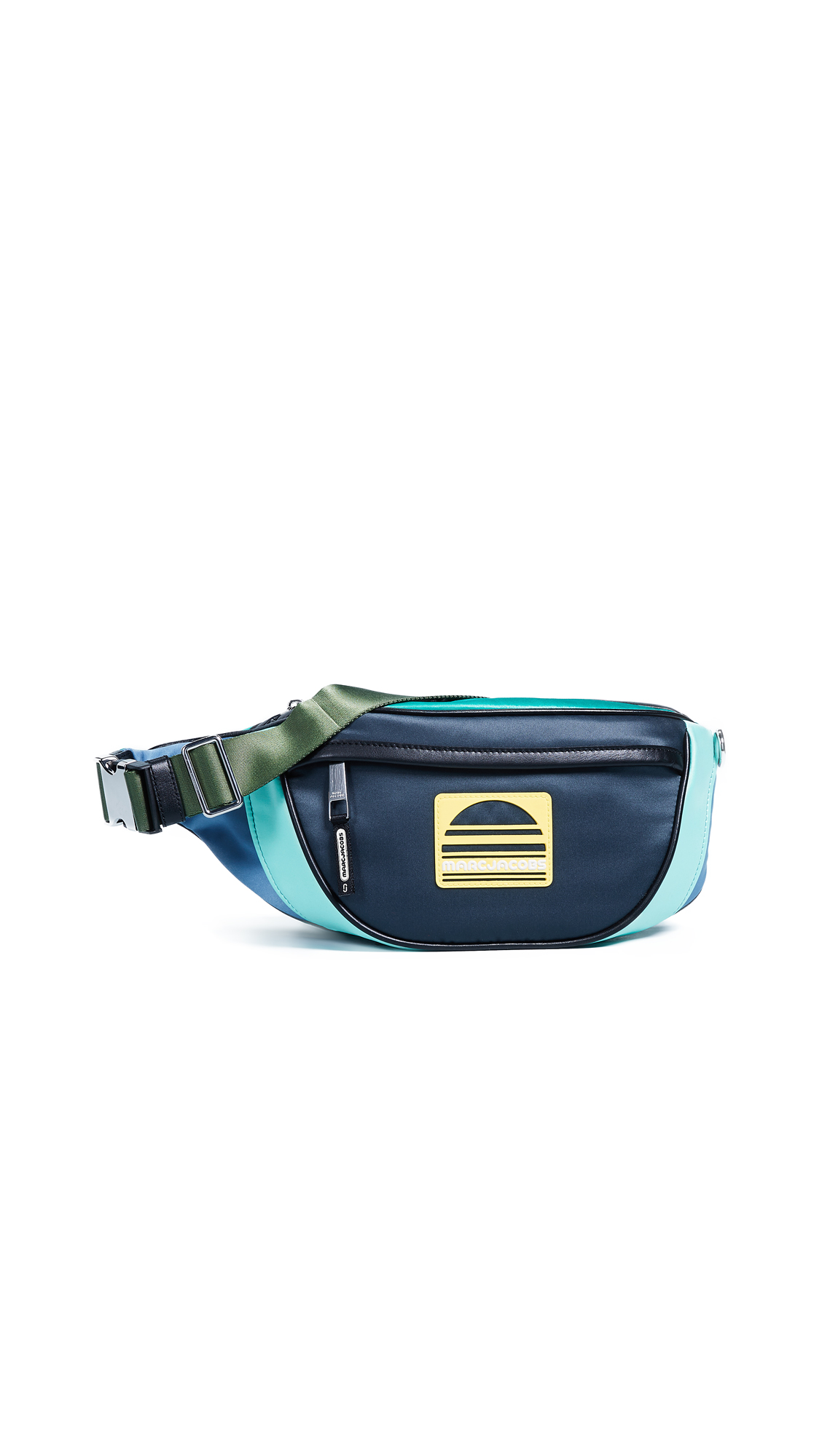 Marc Jacobs Fanny Pack In Mint Multi