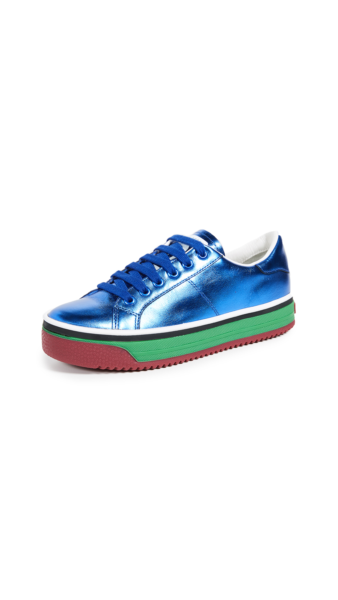 Marc Jacobs Empire Multicolor Sole Sneakers - Blue Multi