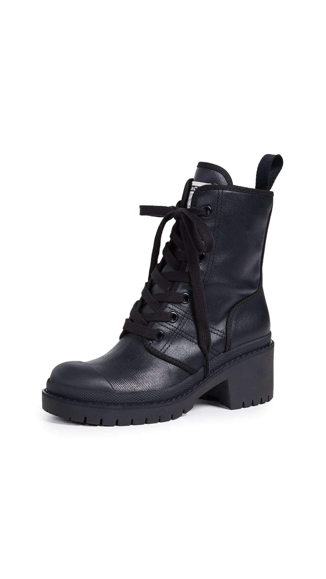 Marc Jacobs Bristol Laced Up Boots - Black