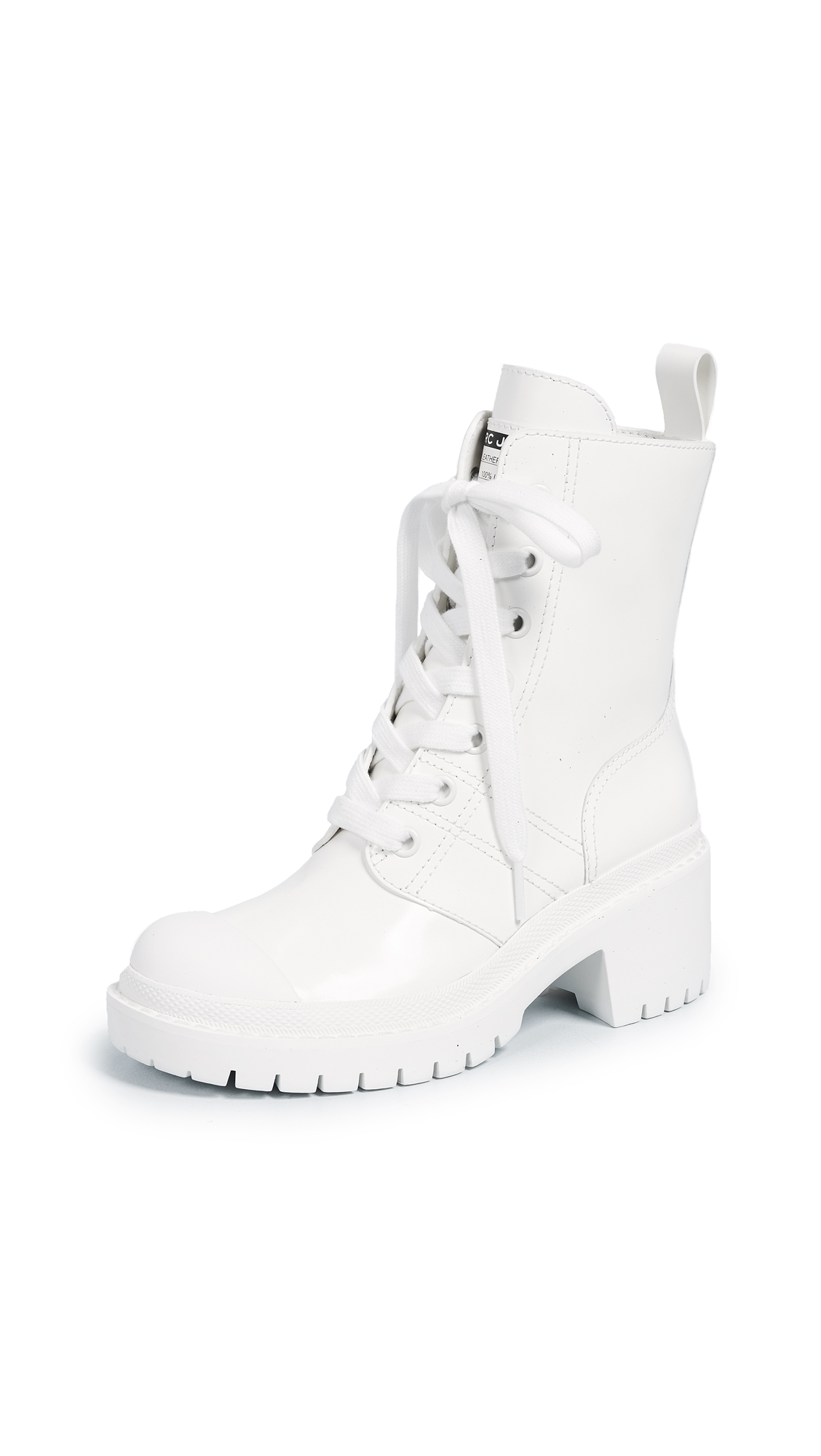 Marc Jacobs Bristol Laced Up Boots - White