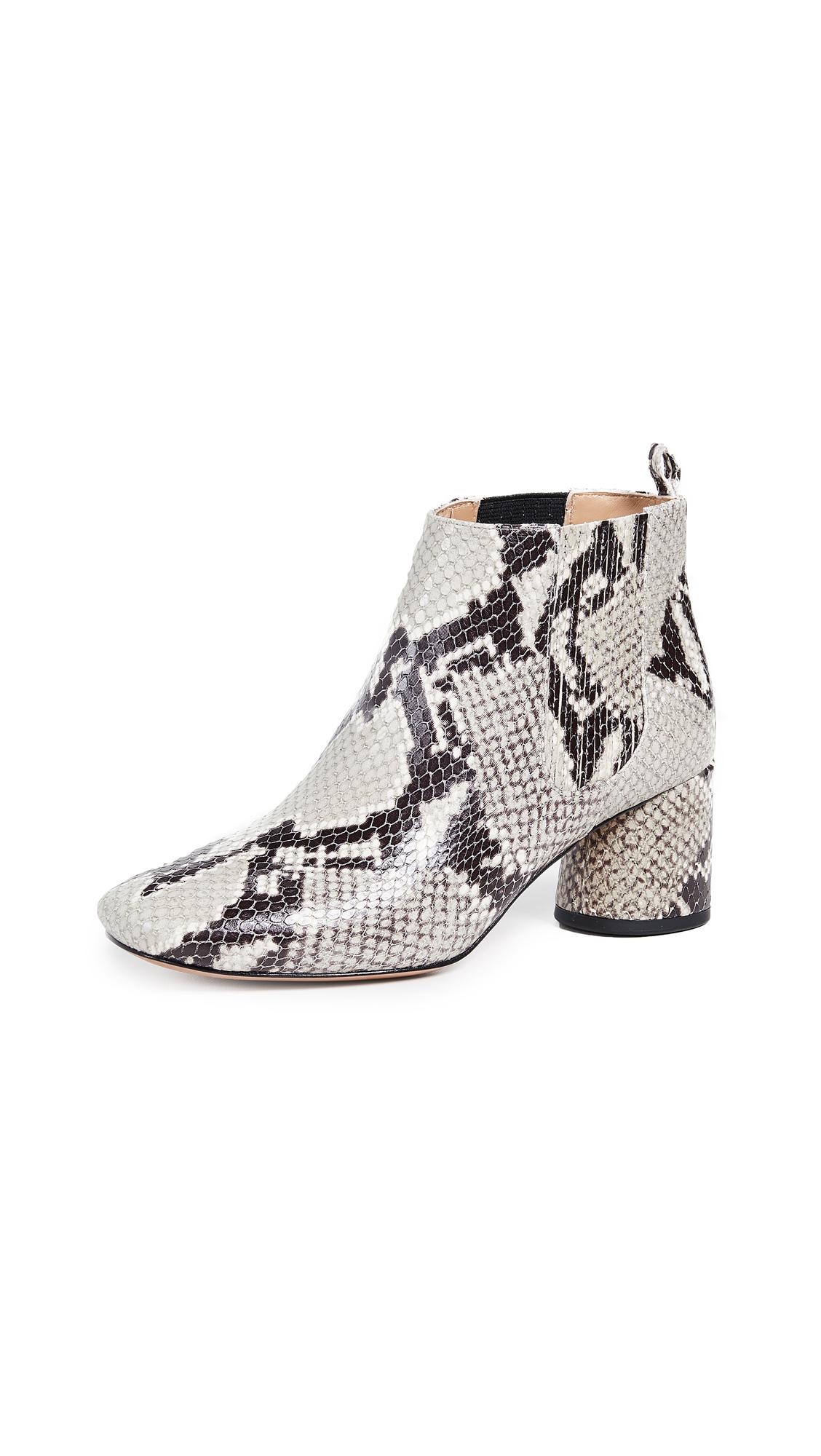Marc Jacobs Rocket Chelsea Booties - Ivory Multi