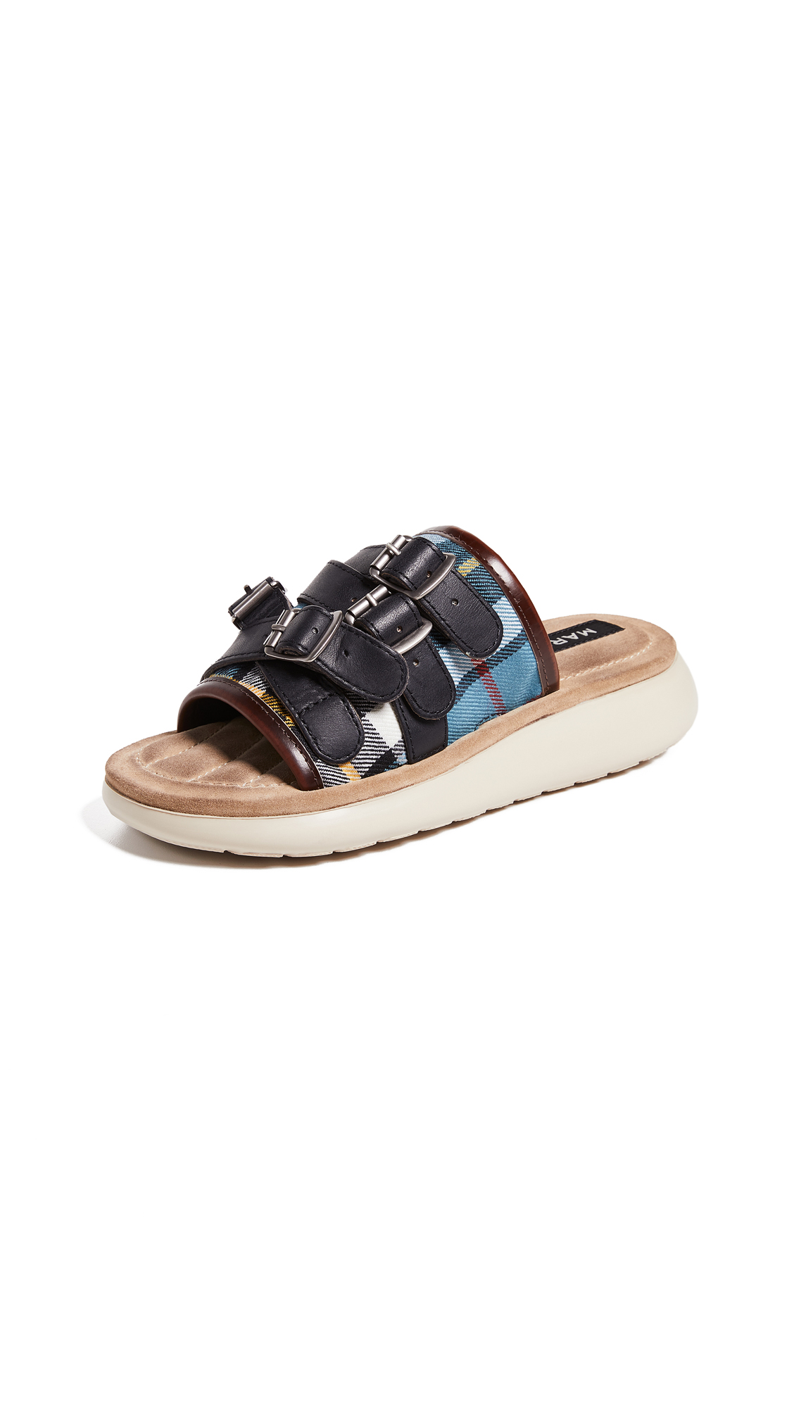 Marc Jacobs Emerson Multi Strap Sport Sandals - Blue Multi
