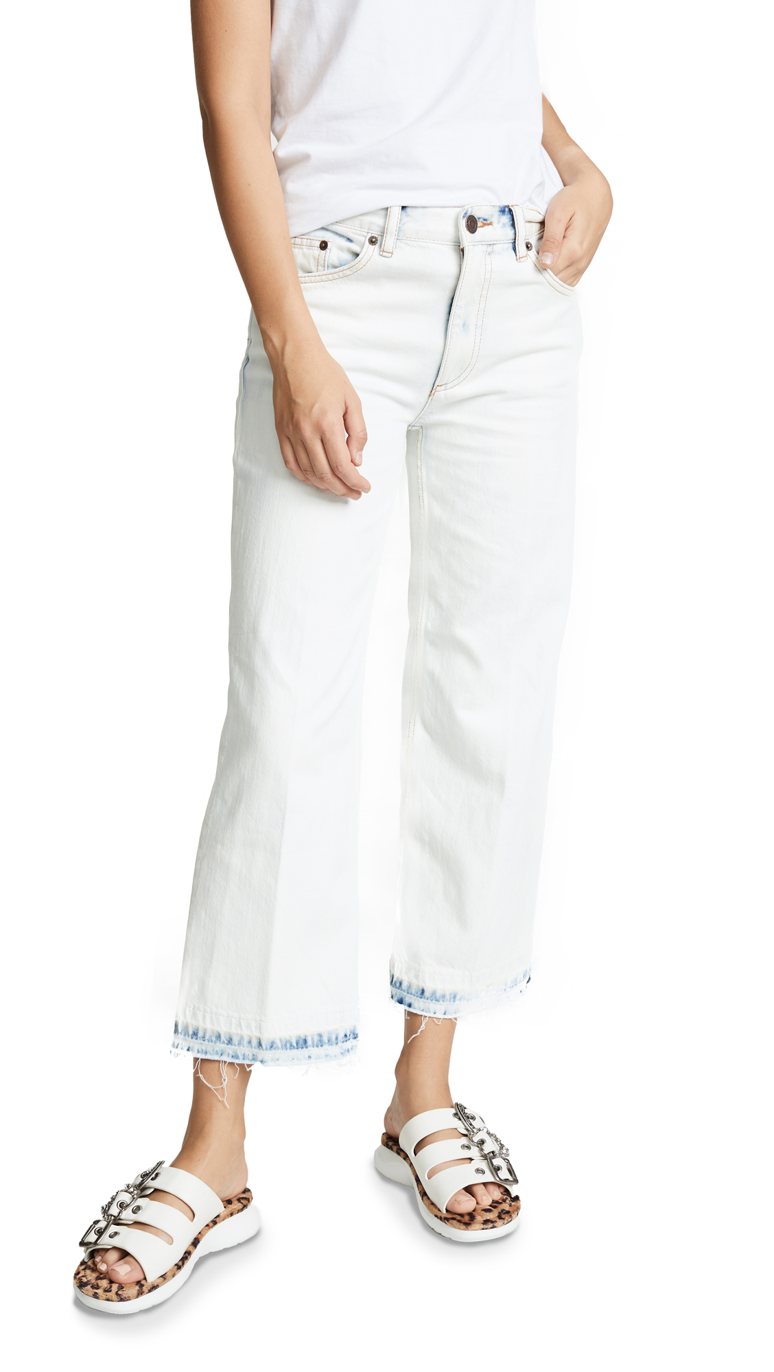 Marc Jacobs Cropped Denim Pants