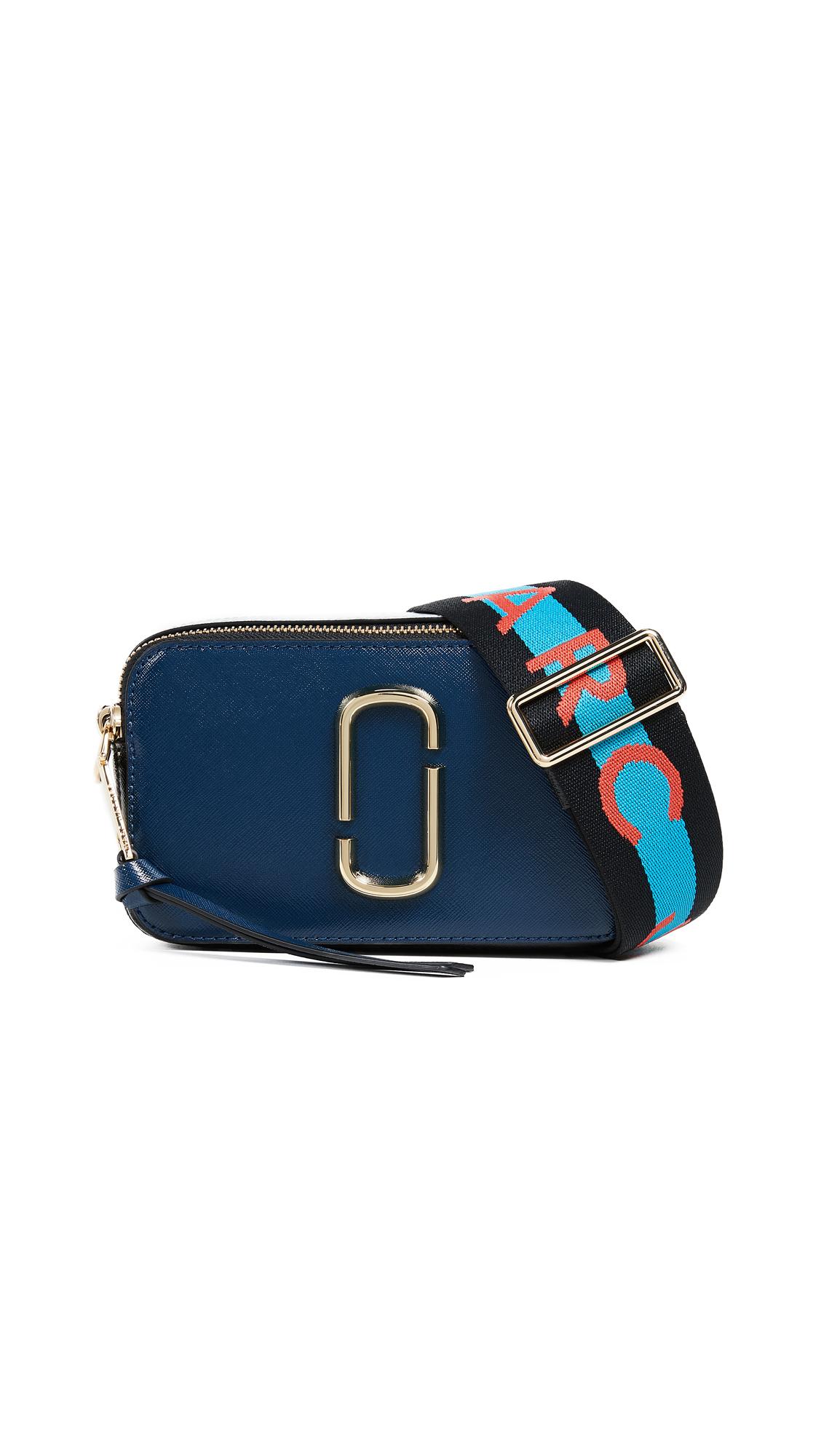 Marc Jacobs Snapshot Camera Bag - Blue Sea Multi