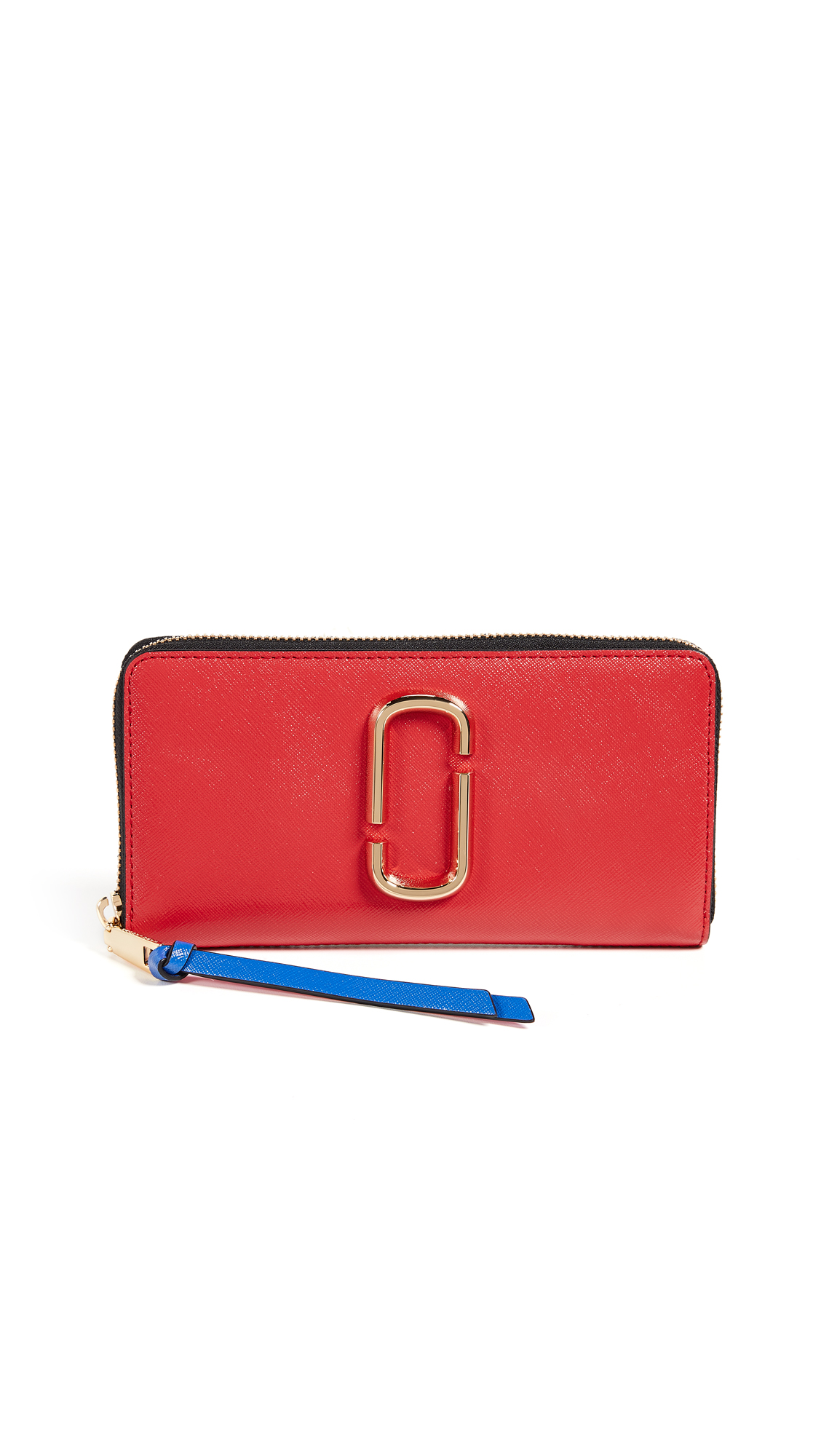 Marc Jacobs Snapshot Standard Continental Wallet - Poppy Red Multi