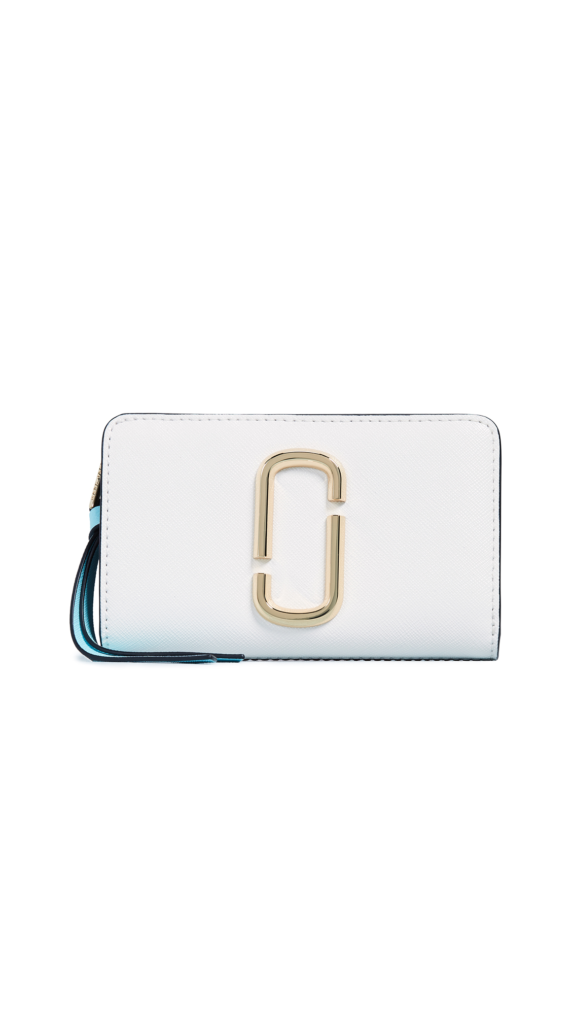 Snapshot Compact Wallet in White
