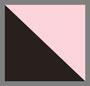 черный/светло-розовый