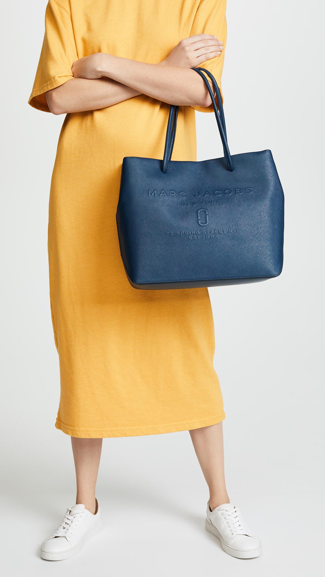 a096dcd1ec5f Marc Jacobs Logo Shopper Tote Bag