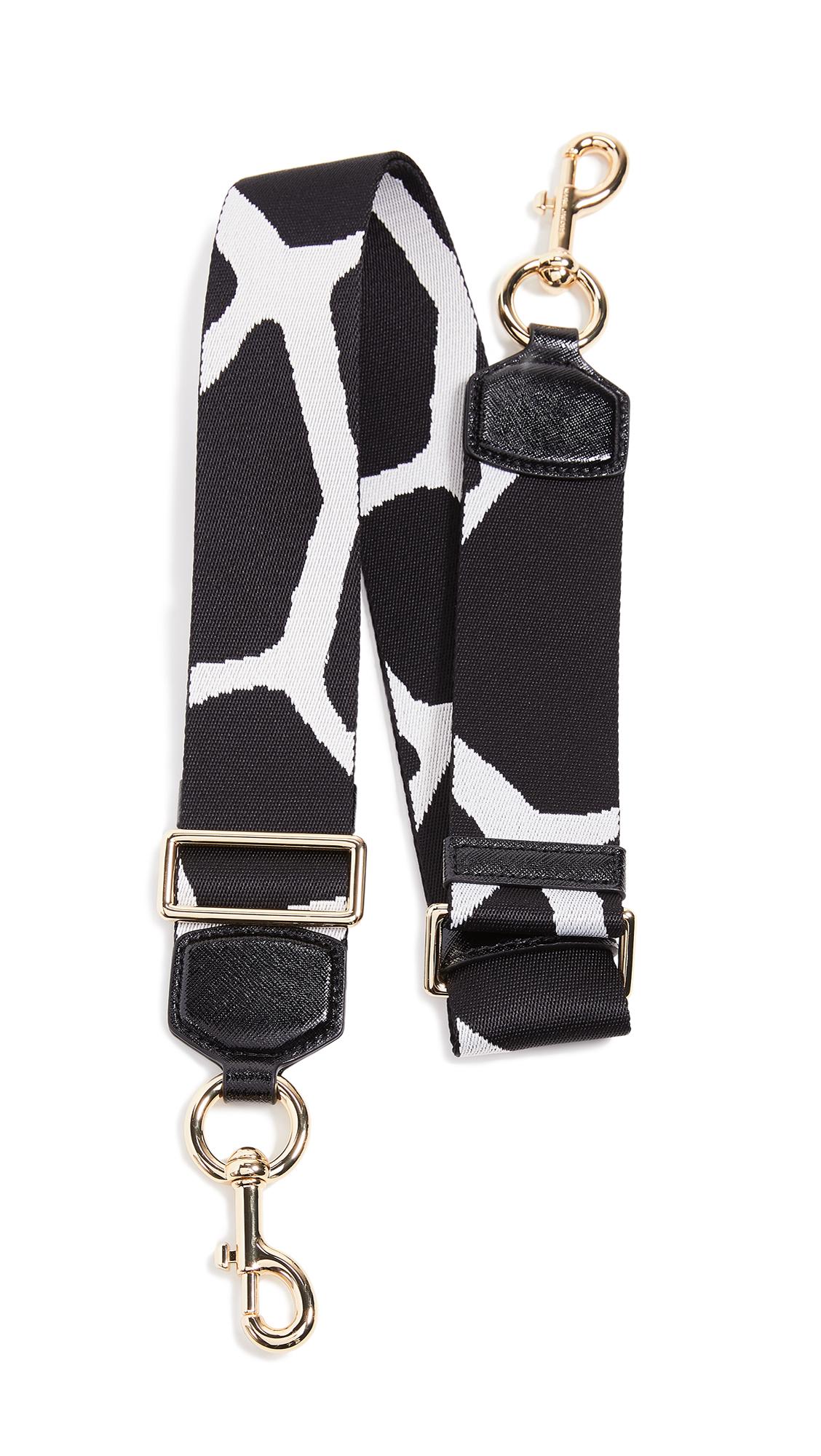 Marc Jacobs Giraffe Webbing Strap In White Multi