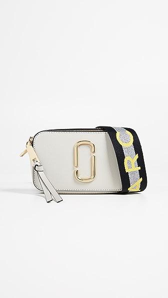 Marc Jacobs Snapshot  Crossbody Bag In Dust Multi