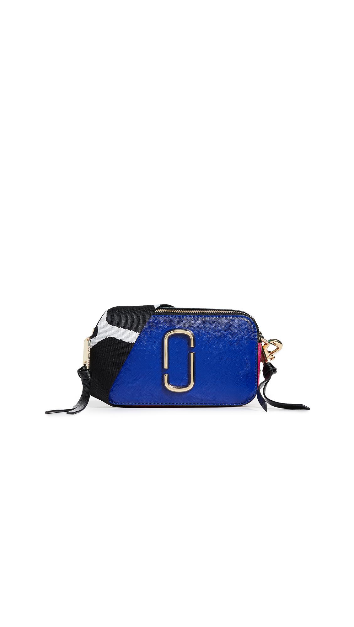 Marc Jacobs Snapshot Crossbody Bag - Academy Blue Multi
