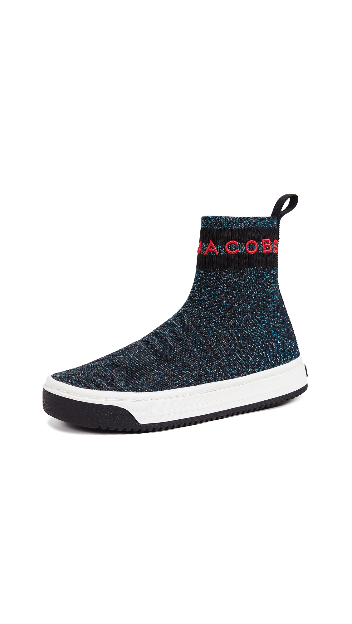 Marc Jacobs Dart Sock Sneakers - Blue Multi
