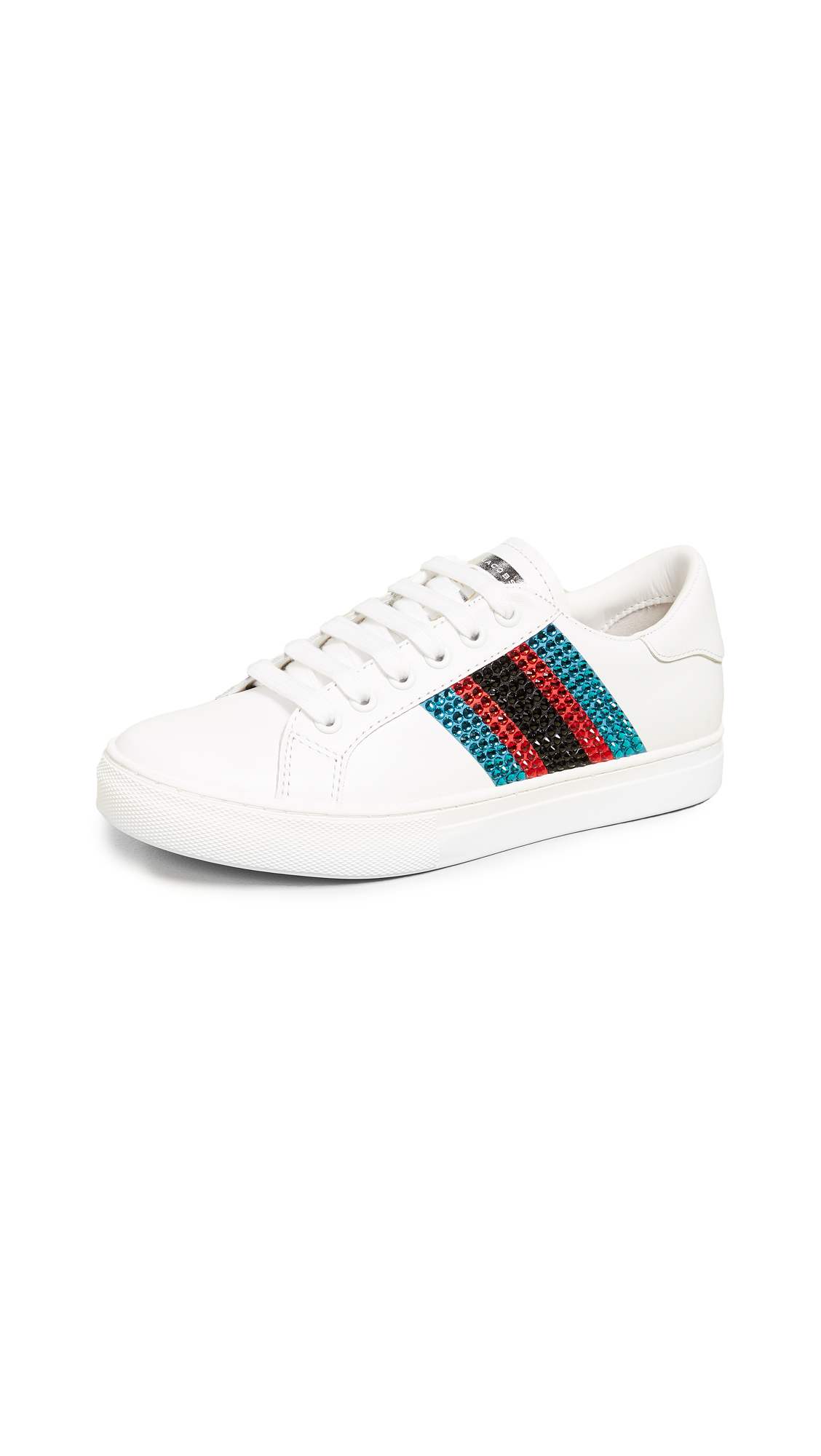 Marc Jacobs Empire Strass Low Top Sneakers - Blue Multi