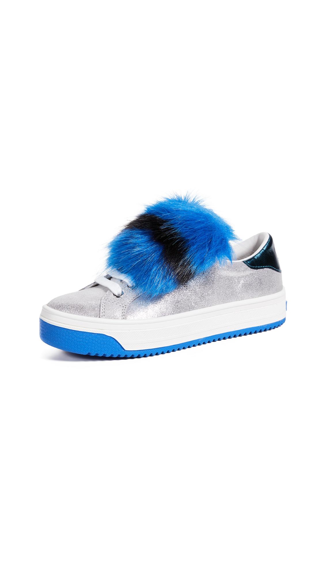 Marc Jacobs Empire Multicolor Sole Sneakers - Silver Multi