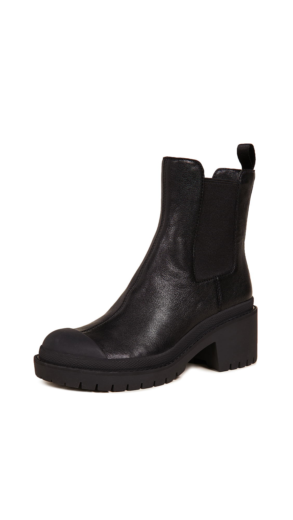 Marc Jacobs Lina Chelsea Booties - Black