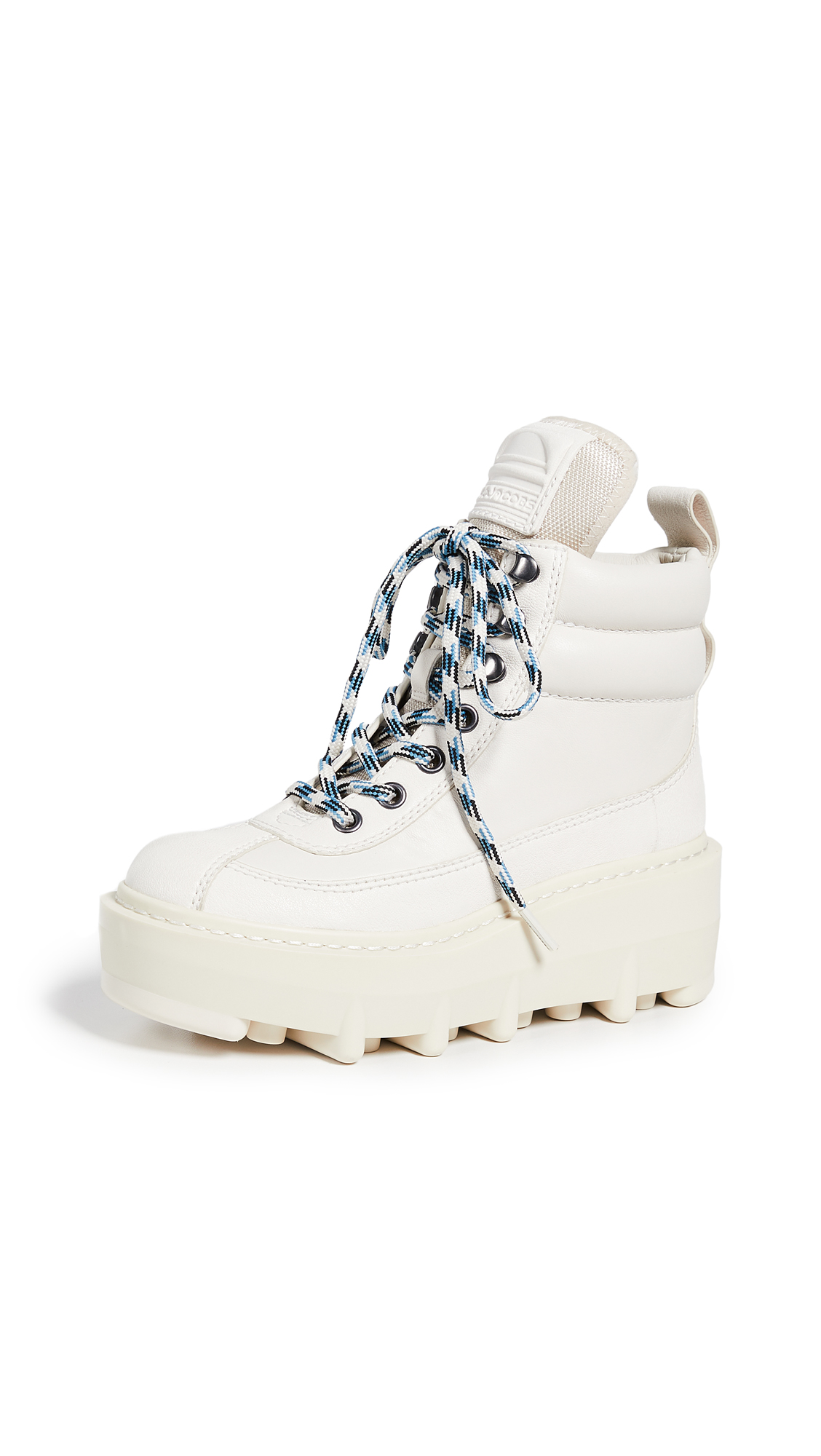Marc Jacobs Shay Wedge Hiking Boots - White