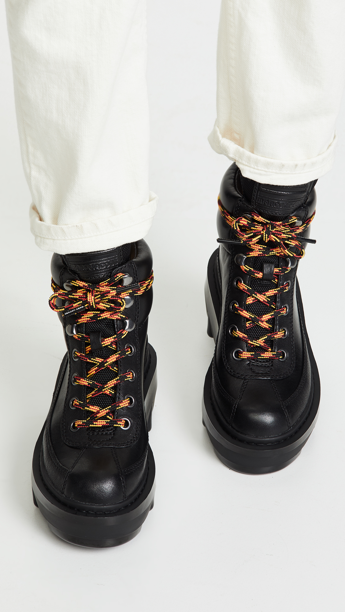 b917798f688 Marc Jacobs Shay Wedge Hiking Boots