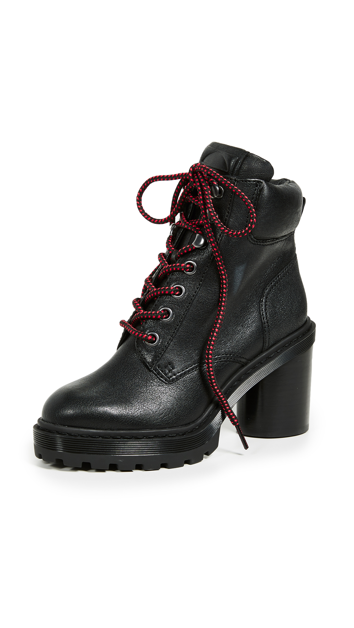 Marc Jacobs Crosby Hiking Boots - Black