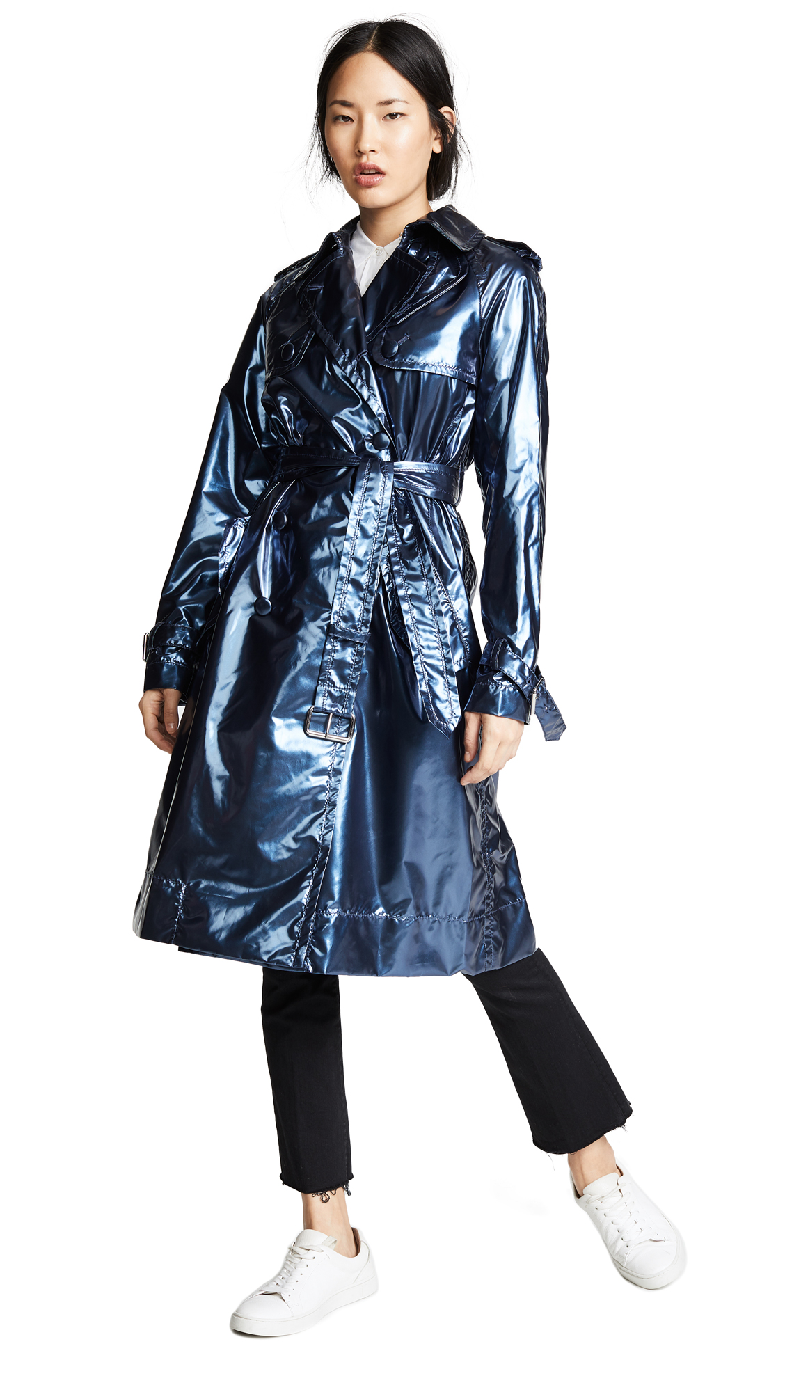 Marc Jacobs Trench Coat - Blue