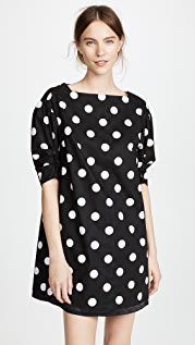The Marc Jacobs Мини-платье в горошек