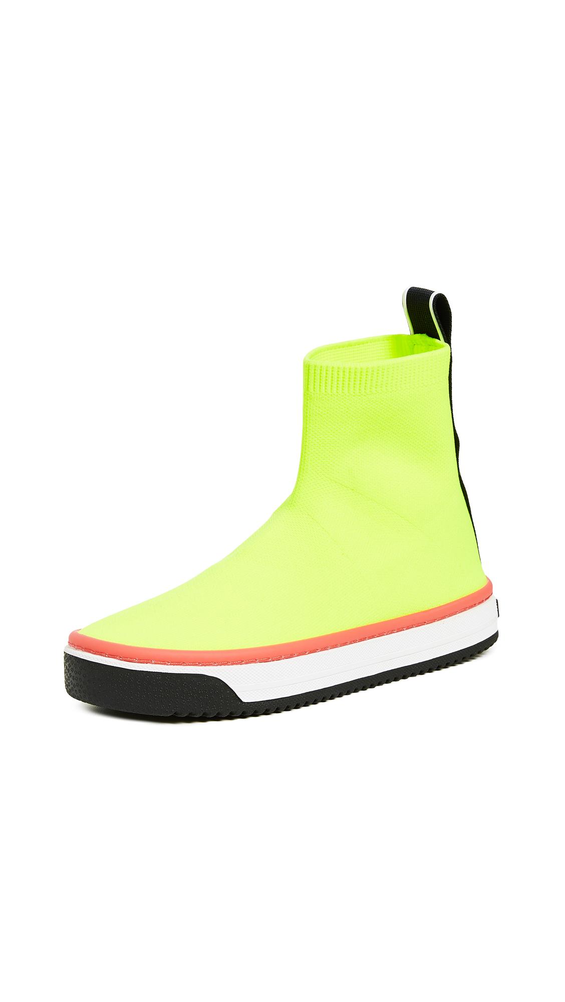 Marc Jacobs Dart Sock Sneakers - Yellow