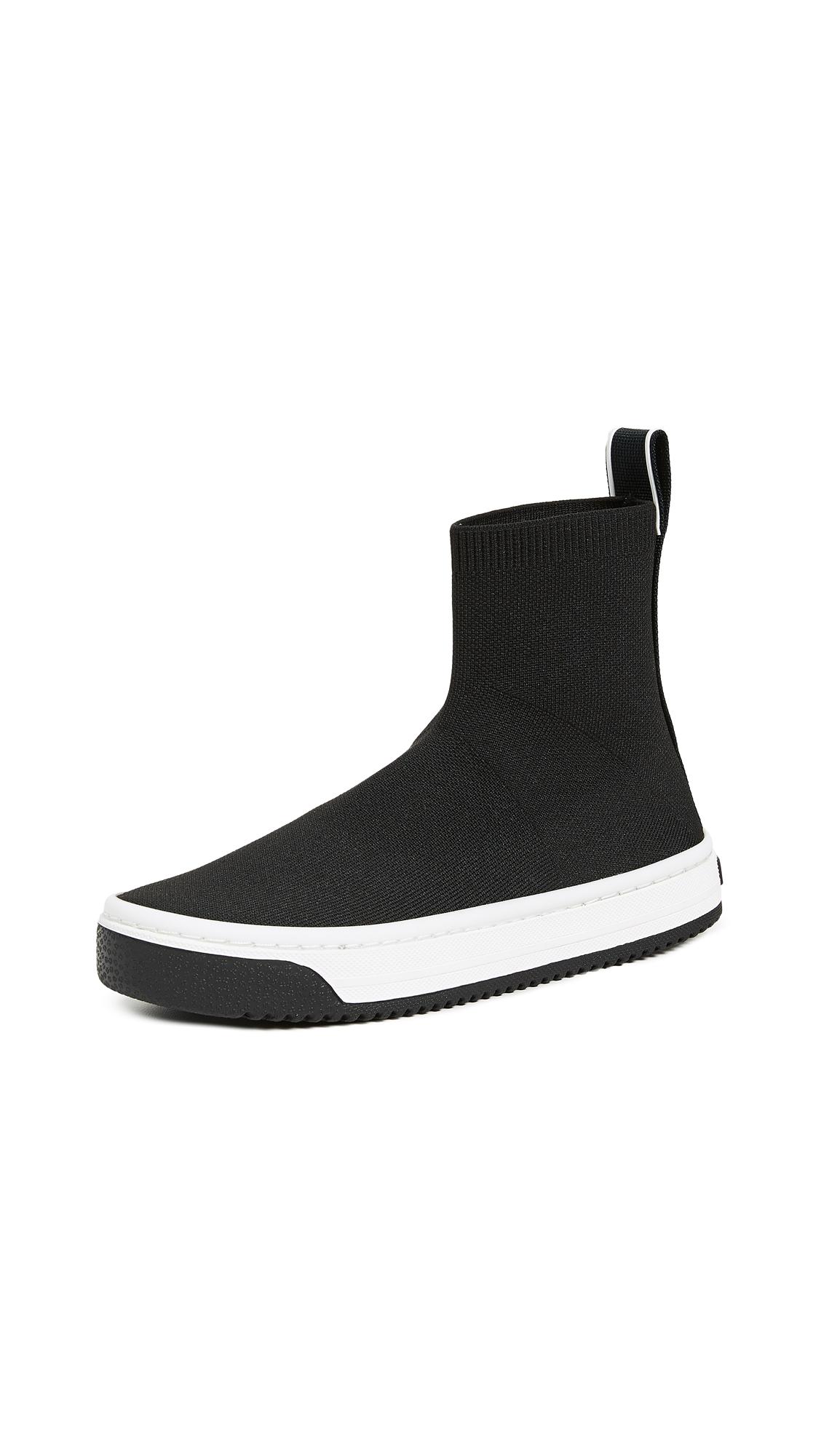 Marc Jacobs Dart Sock Sneakers - Black