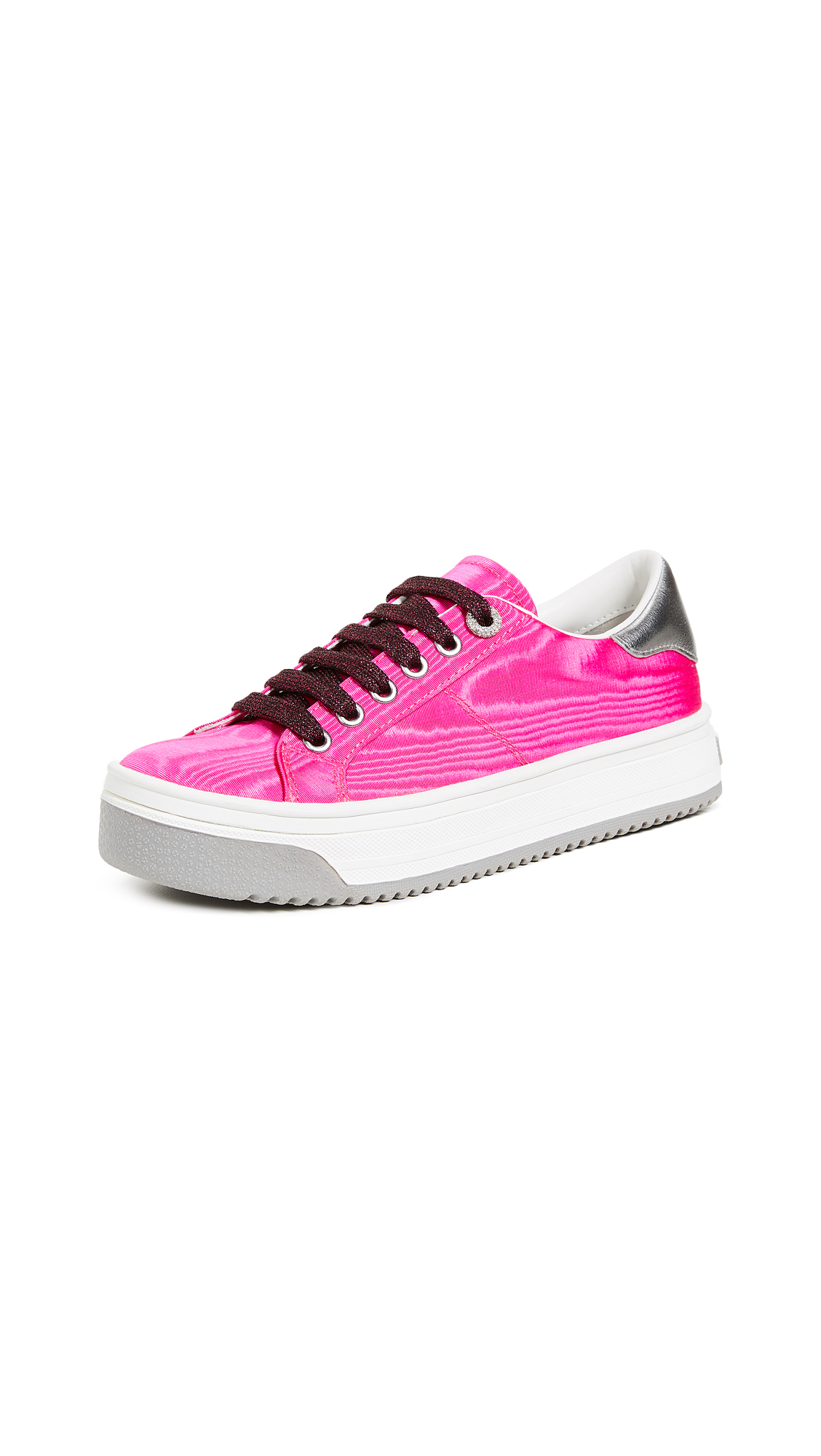 Marc Jacobs Empire Multi Color Sole Sneakers - Magenta