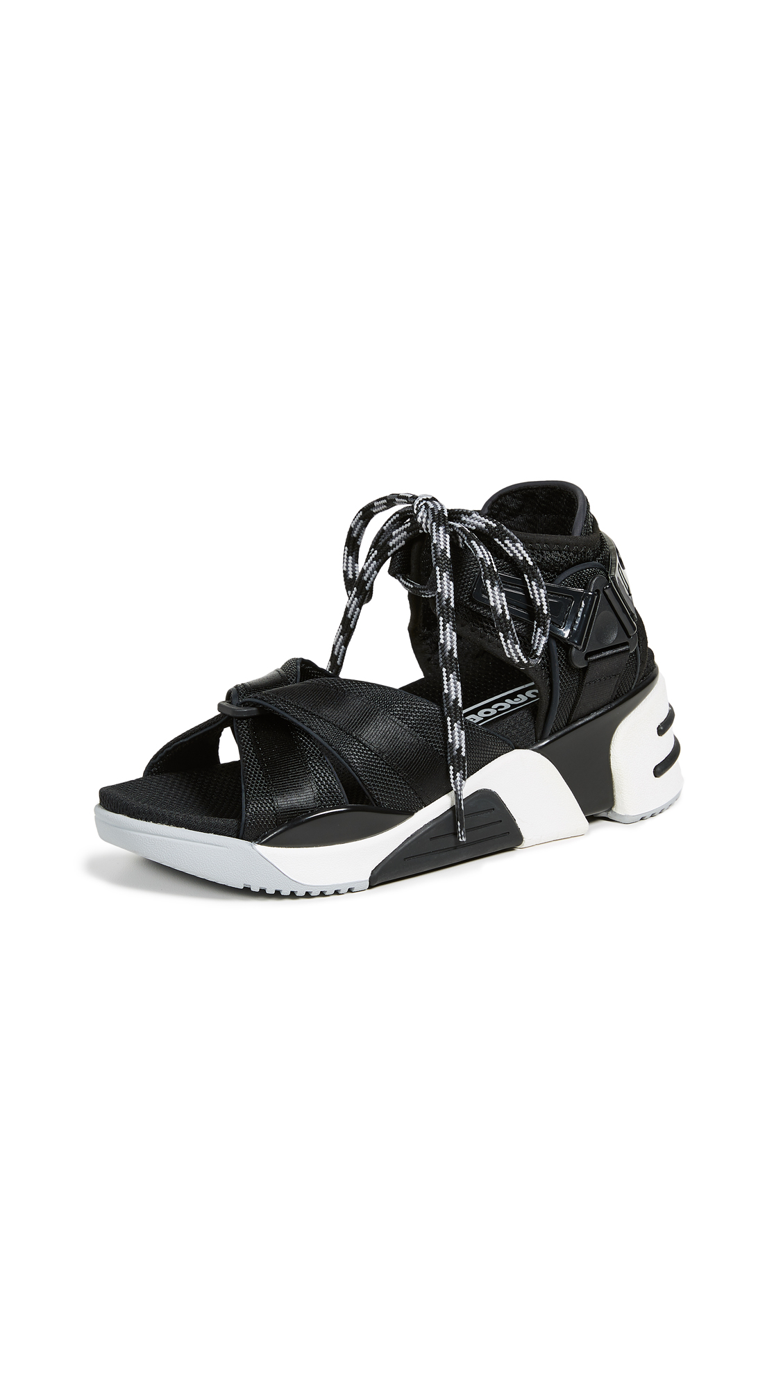 Marc Jacobs Somewhere Sport Sandals with Socks - Black Multi